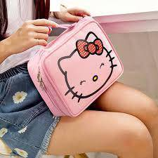 Hello Kitty Cosmetic/Toiletry/Make up Bag