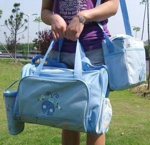 Waterproof ladybird mummy 4in1 diaper bag
