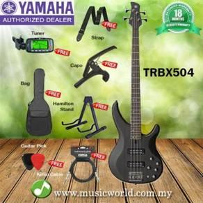 Yamaha bass guitar trbx504blk