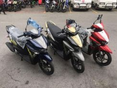 2018 Yamaha ego-avantiz 125