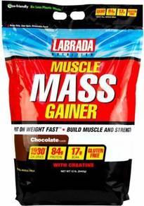 Labrada mass gainer naik muscle badan