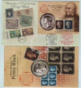 First Day Cover 175th Penny Black Malaysia 2015