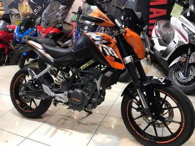 KTM Duke 200 Secondhand Used ~ WXD 4343 ~ Tiptop