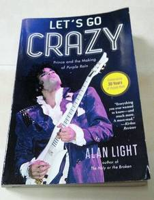 PRINCE - LET'S GO CRAZY Book