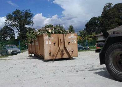 Roro construction bin