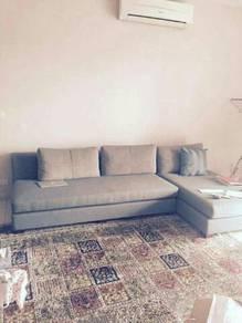 Serena L-shaped sofa. brand