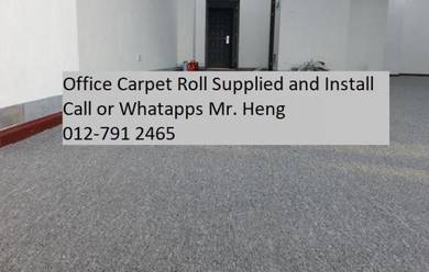 Plain Design Carpet Roll - with install 333erty