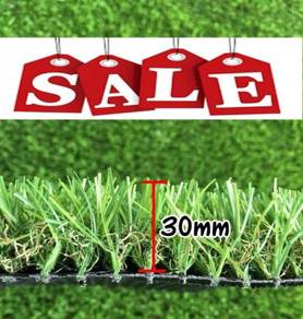C Shape 30mm Natural Top Quality Artificial Grass