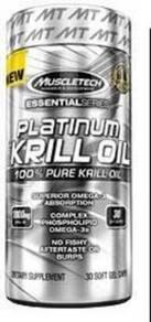 Muscletech platinum krill oil