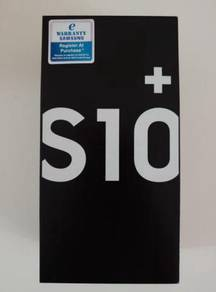 New Samsung S10 Plus 512GB. Hargaa 13OORM jer