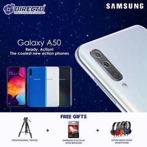 SAMSUNG Galaxy A50 (6GB RAM)MYSet + PERCUMA 3 GIFT