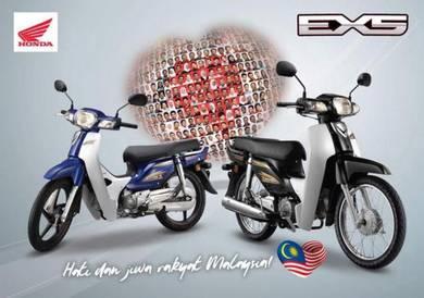 HONDA EX5 DREAM Fi 110cc NEW YEAR DEPOSIT