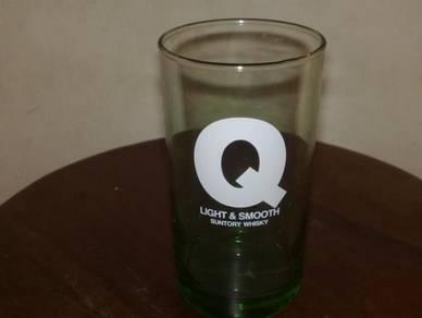 Cawan Q suntory glass cup