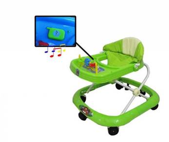 Baby walker with music and toys