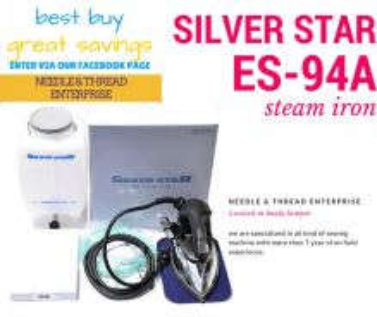 Silver star steam iron es-94a 54165033
