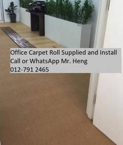 Office Carpet Roll Modern With Install 56fg