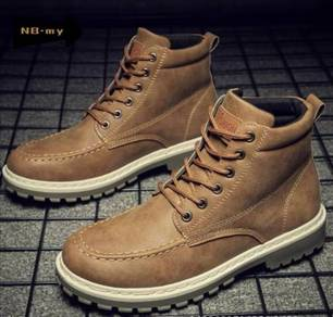 Men's Fashion Martin Boots Leather high-top boots