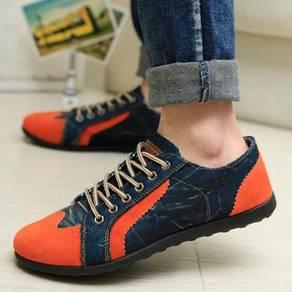 S18361 Korean Trendy Orange Sneakers Kasut Shoes