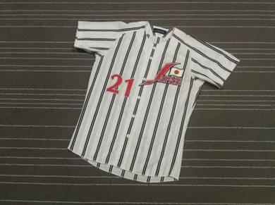 JAPAN 21 by MIZUNO baseball jerseys size L