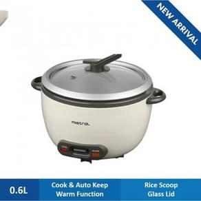 Mistral Rice Cooker MRC06D (0.6L)
