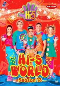 DVD Hi-5 World 5 Episodes Australia Series