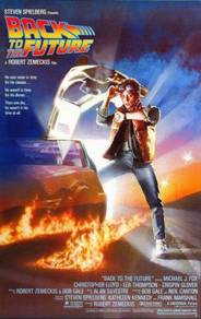 Poster back to the future MOVIE