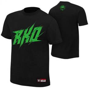 WWE WWF Shirt (Randy Orton Black RKO Strike Green)
