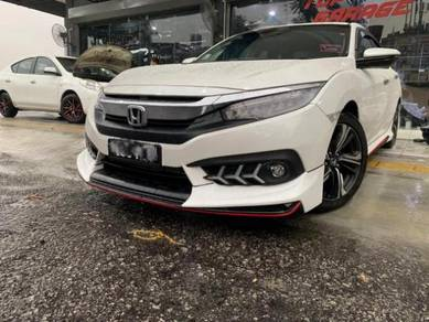 Honda civic fc bodykit amz with paint body kit