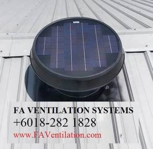 FT10CV Solar Powered Roof Ventilator Germany