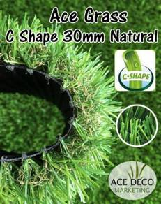 Pemborong C30mm Artificial Grass Rumput Tiruan