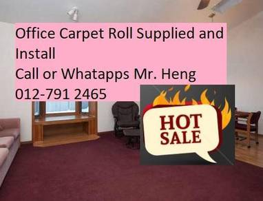 Plain Design Carpet Roll - with install 56tg