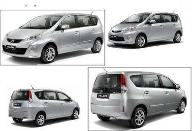 Bumper Alza convert 2009 to 2014 facelift alza