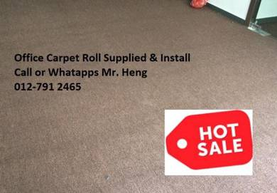 Plain Design Carpet Roll - with install 5657