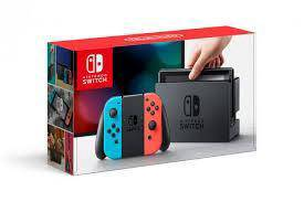 Nintendo switch neon (blue/red) asia