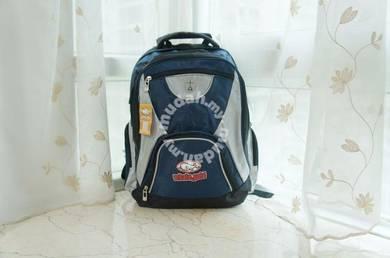 BB150 Whalegold Backpack (Black + Blue)