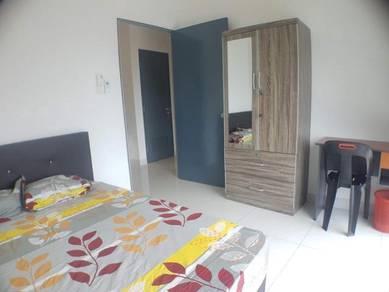 Bukit Jalil Link 2 room bilik FREE Gym Pool WIFI near Astro APU TPM