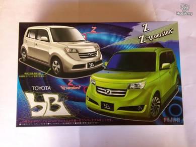 1-24 Toyota bB ZQ Ver-Z Ver car kit