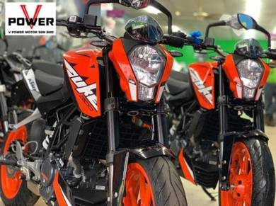 Ktm duke 200 (promotion sales) senang lulus