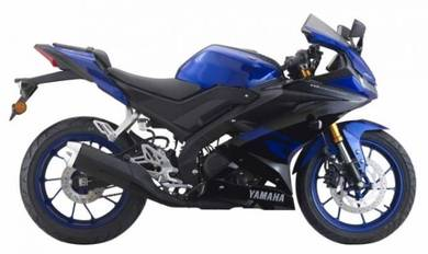 Yamaha yzf-r15 normal color cny low deposit