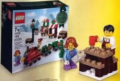 Lego 40262 Christmas Mini Train Ride 2017