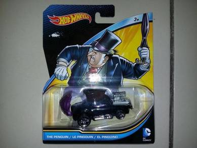 Hotwheel Batman Diecast Character Car Penguin