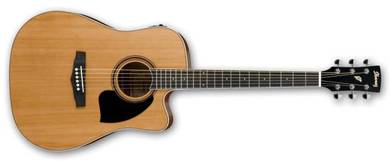 Ibanez pf17ece - Acoustic Guitar with Pickup