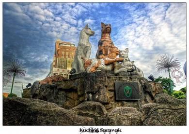 Percutian / Lawatan ke Kuching Sarawak 3D2N
