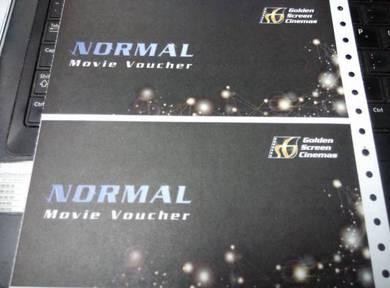 Golden Screen Cinemas GSC Movie Vouchers