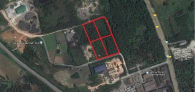 1.5 Acre Industrial Land at Kanthan, Chemor