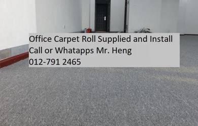 Plain Design Carpet Roll - with install 45g6uu