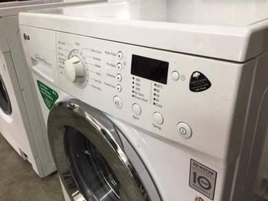 Mesin Inverter Washer Front Load LG 7kg Machine