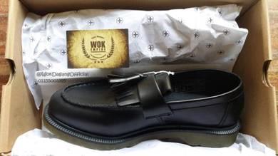 Dr martens tassel loafer black