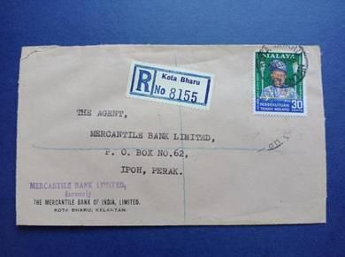 Antik Cover KOTA BHARU 1958 X134