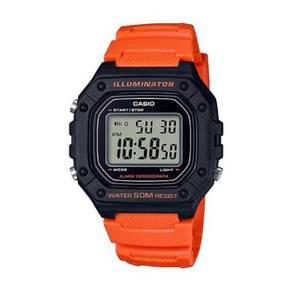 100% Original Casio Watch W-218H-4B2